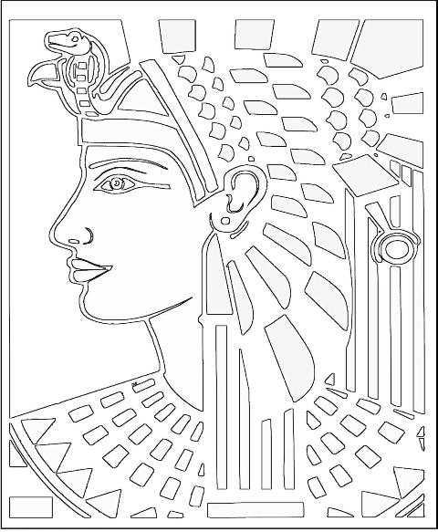 ancient egyptian coloring pages - photo#4