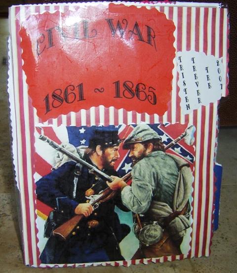 American Civil War Lapbook Notebook | Tina's Dynamic Homeschool Plus