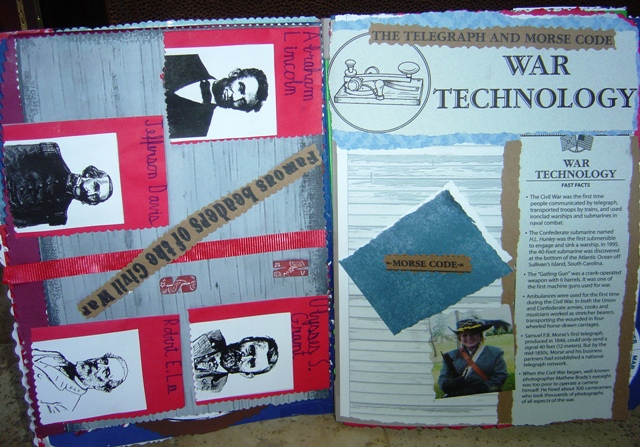 American Civil War Lapbook Notebook 2| Tina's Dynamic Homeschool Plus